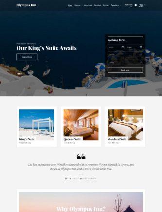 web para hoteles
