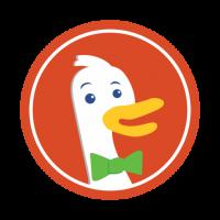 duckduckgo logo buscador usa