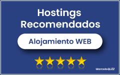 Hostings recomendados para España y Latinoamerica