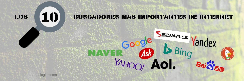 Los 10 buscadores más importantes de internet