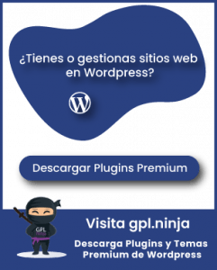 Visita gpl.ninja y descarga plgins premium de Wordpress